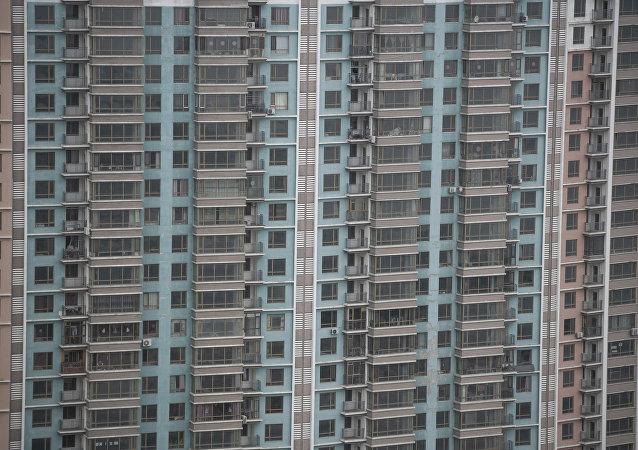 Çin'de binalar