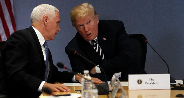 Trump ile Pence'den 'Watergate'