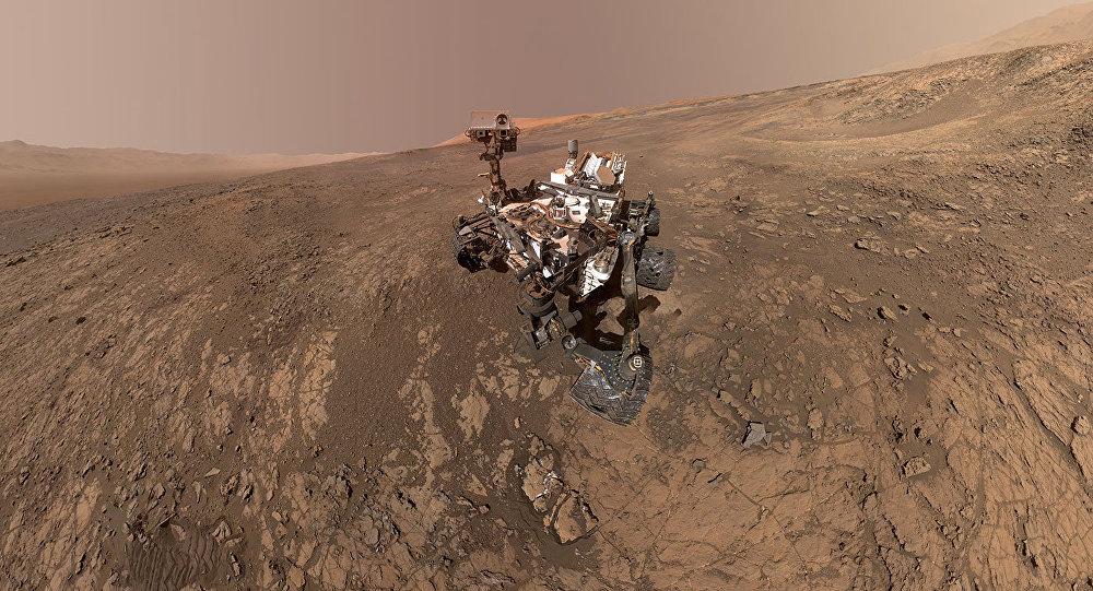NASA'nın keşif aracı Curiosity'nin çektiği son Mars görüntüsü