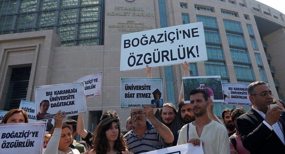 Boğaziçi Üniversitesi öğrencilerinin duruşması