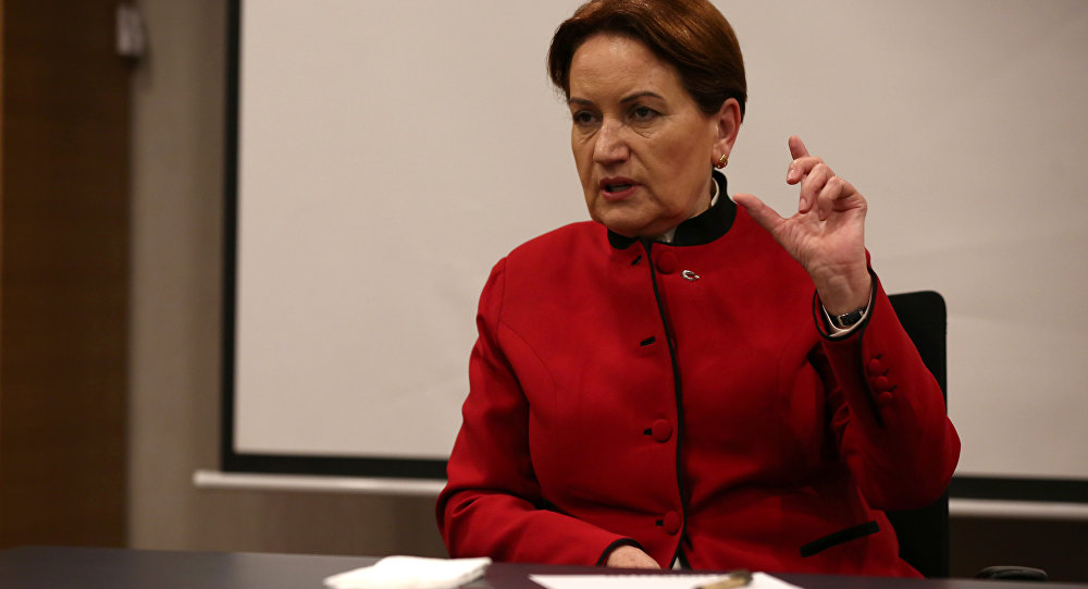 İYİ Parti Genel Başkanı ve Cumhurbaşkanı adayı Meral Akşener