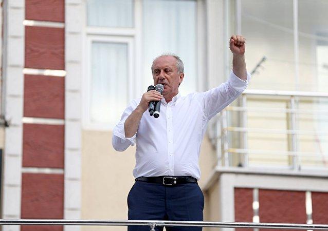 İnce: Erdoğan beyaz Türk, ben zenci
