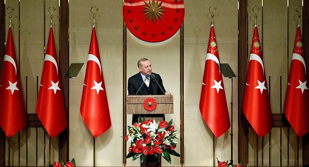 Cumhurbaşkanı ve AK Parti Genel Başlanı Recep Tayyip Erdoğan