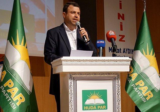 HÜDA PAR Genel Başkanı Mehmet Yavuz