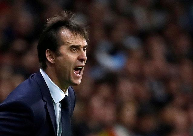İspanya milli takımı teknik direktörü Julen Lopetegui