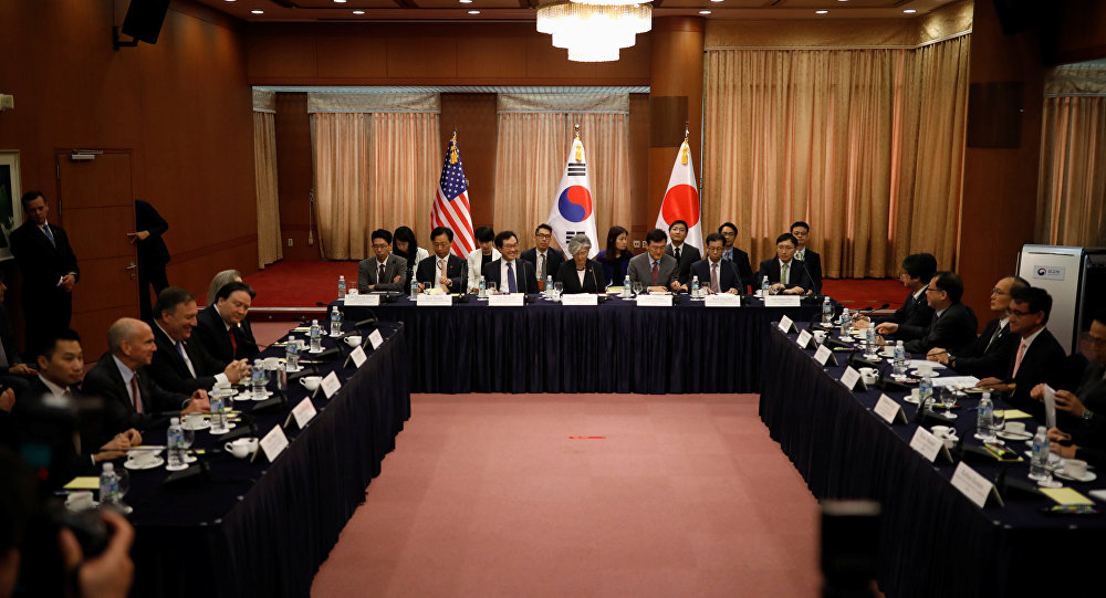 ABD- Güney Kore- Japonya
