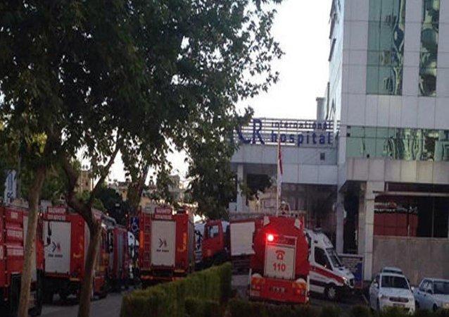 Gaziantep'te hastane yangını