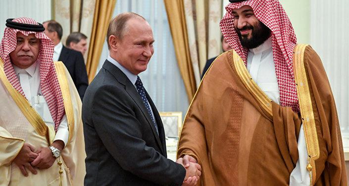 Rusya Devlet Başkanı Vladimir Putin-Suudi Veliaht Prens Muhammed bin Selman