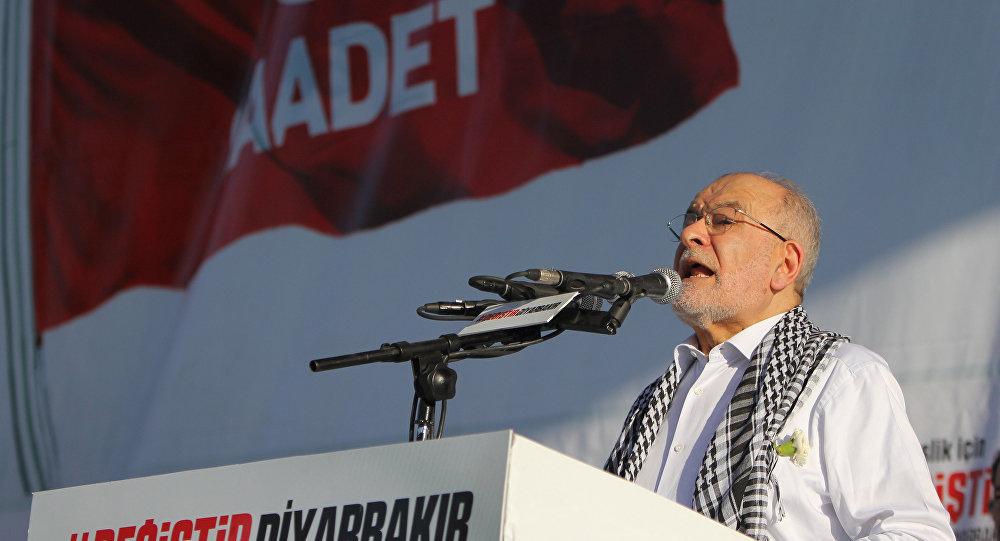 Saadet Partisi Cumhurbaşkanı Adayı Temel Karamollaoğlu'nun Diyarbakır mitingi