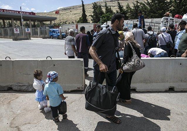 Suriyeliler bayram dönüşü