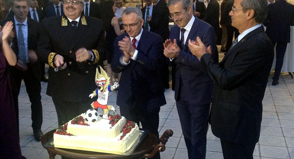 Ankara'da Rusya Milli Günü kutlaması