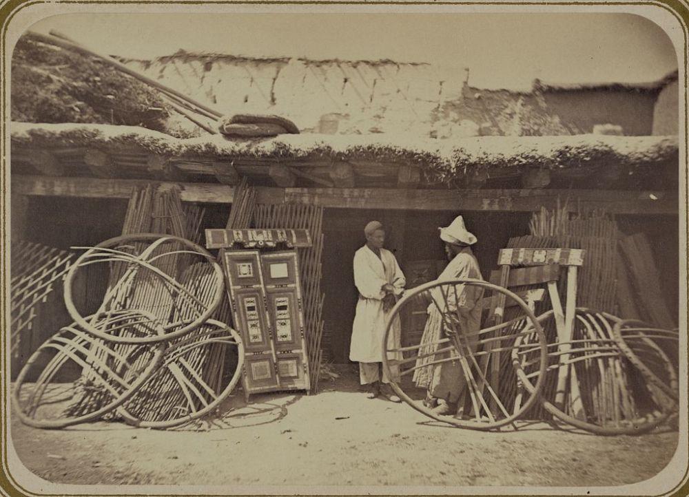 150 yıllık fotoğraflarla Kırgızistan'da gündelik hayat