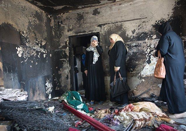 Dawabsha ailesinin kundaklanan evi