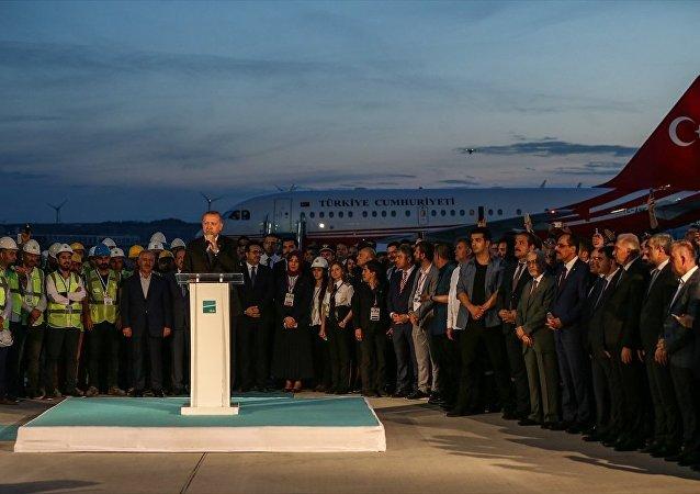 Cumhurbaşkanı Recep Tayyip Erdoğan - 3. Havalimanı