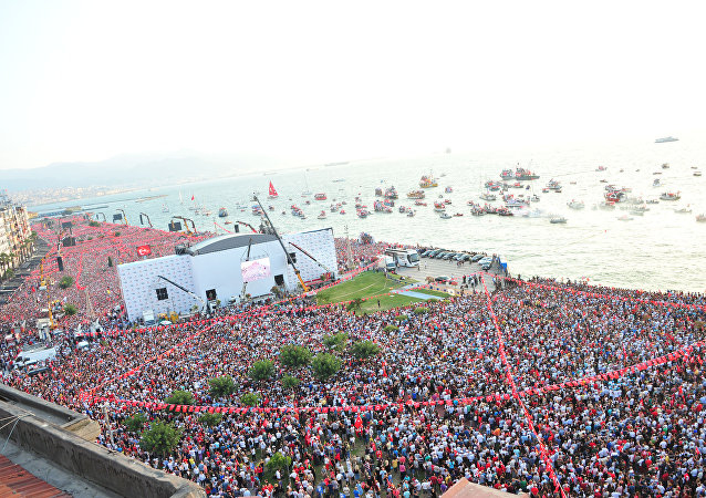 Muharrem İnce İzmir mitingi