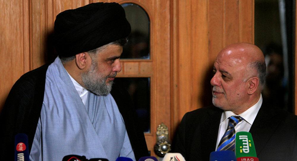 Mukteda es Sadr ve Haydar İbadi Irak'ta yeni hükümet için anlaştı