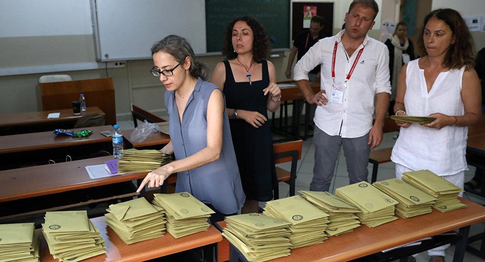 Oy sayımı, 24 Haziran, seçim, sandık