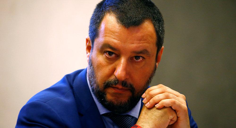 İtalya İçişleri Bakanı Matteo Salvini