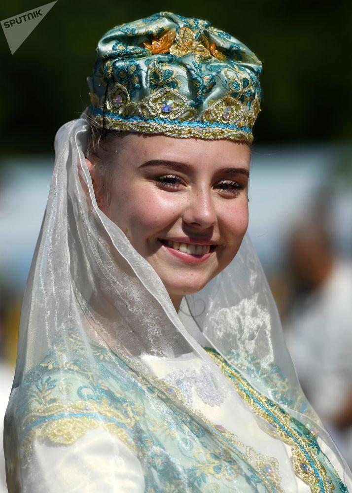 Kazan'daki Sabantuy kutlamaları