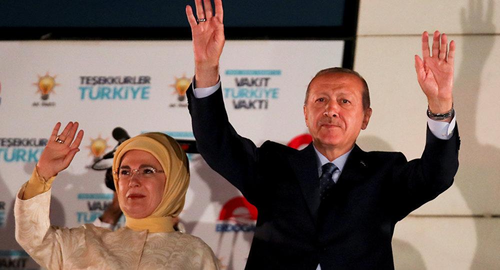 Cumhurbaşkanı Recep Tayyip Erdoğan-Emine Erdoğan