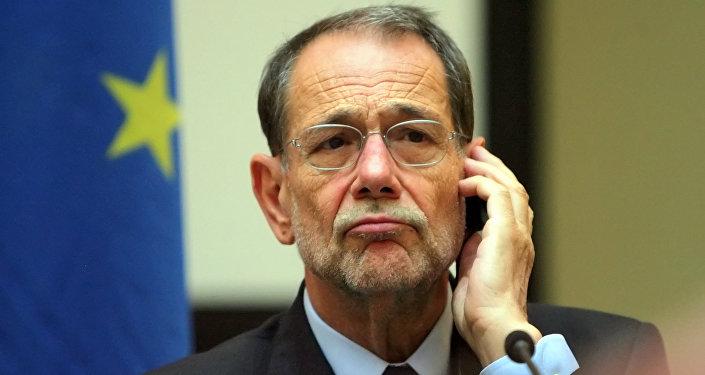 Former NATO Secretary General Javier Solana