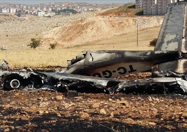 Adıyaman'da eğitim uçağı düştü, pilot yaşamını yitirdi