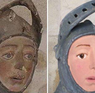 Başarısız Aziz George heykeli restorasyonu