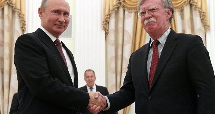 Rusya Devlet Başkanı Vladimir Putin- Trump'ın Ulusal Güvenlik Danışmanı John Bolton