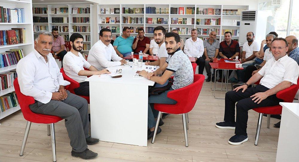 Diyarbakır'da 'Millet Kıraathanesi' açıldı