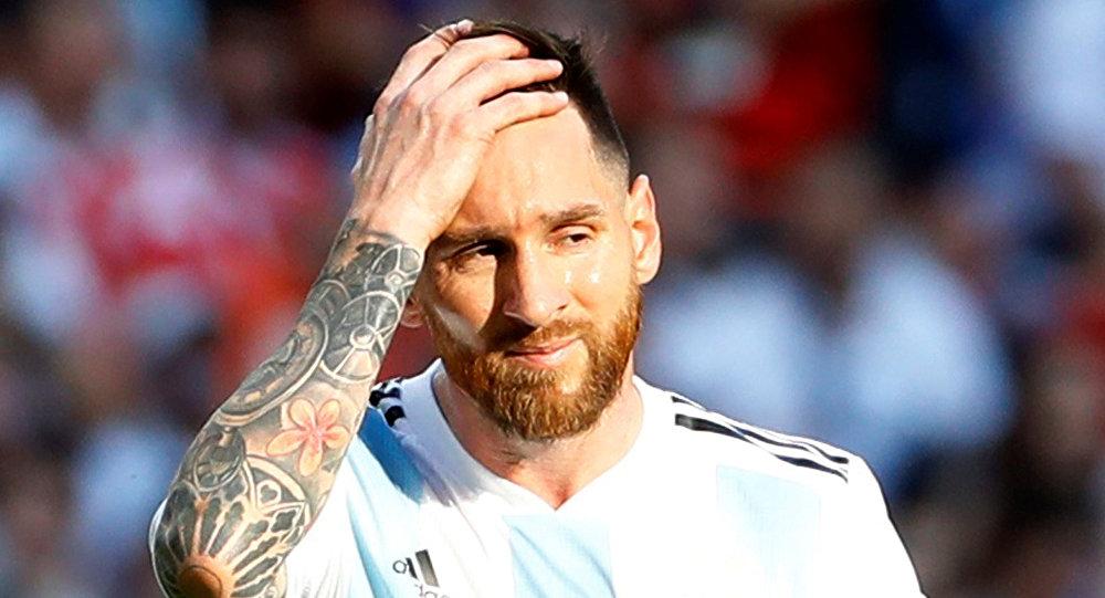 2018 Dünya Kupası, 2. tur, Fransa'nın penaltısı sonrası Messi