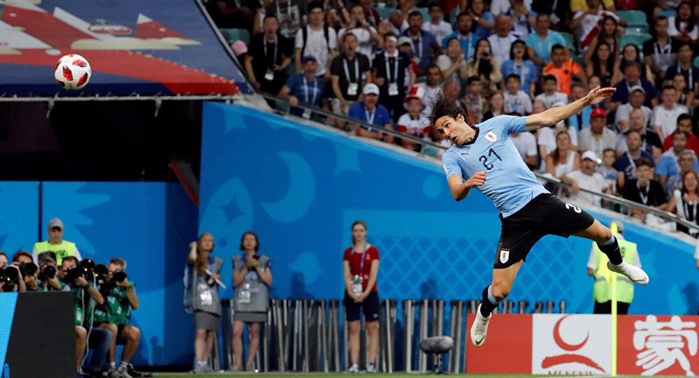 2018 FIFA Dünya Kupası, son 16 turu, Uruguaylı Cavani'den Portekiz'in kalesine