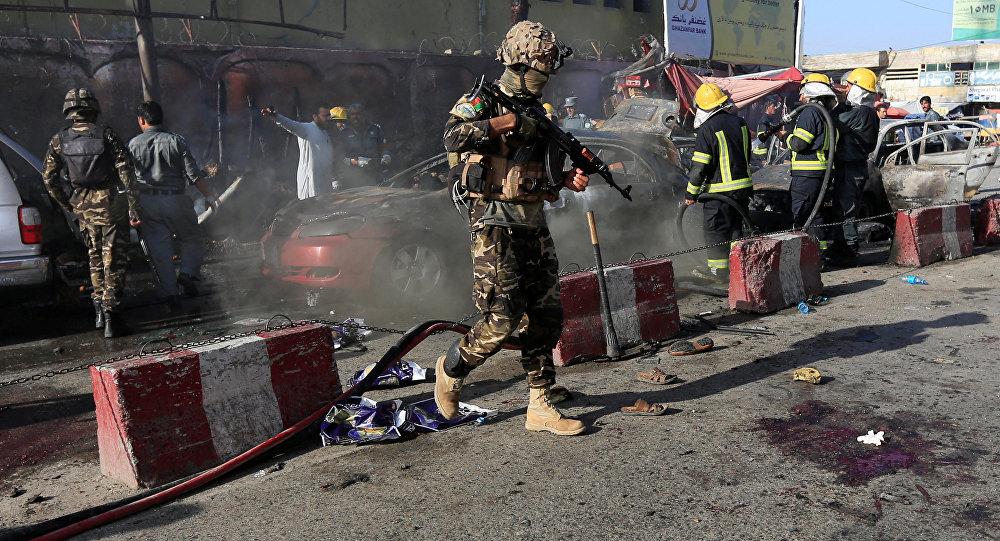 Afganistan'ın Celalabad kentinde bombalı saldırı