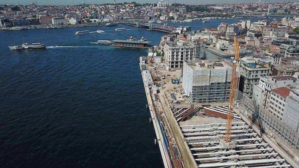 İstanbul Modern'in eski binası yıkıldı