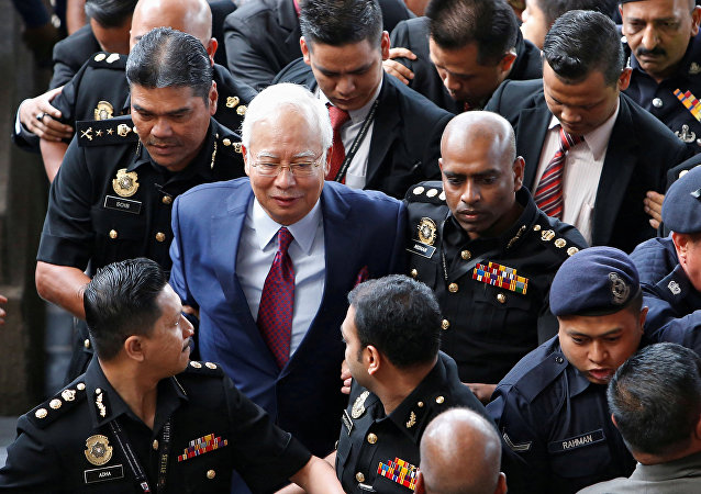 Eski Malezya Başbakanı Necip Rezak