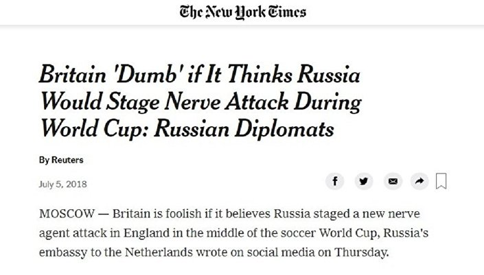 New York Times'ın konuyla ilgili haberi