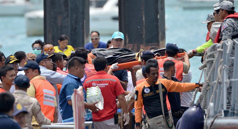 Tayland- Tekne kazası