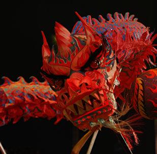 Çin, Hong Kong, ay takvimine göre yeni yıl kutlaması, ejderha dansı
