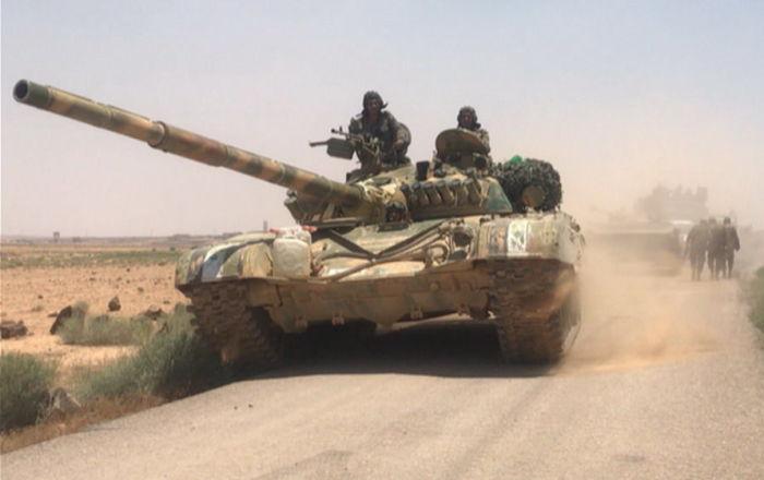 'Suriye ordusu IŞİD'in güneydeki son dayanak noktasının kontrolünü ele geçirdi'