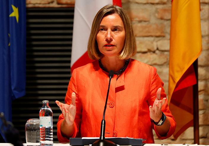 Avrupa Birliği Dışişleri ve Güvenlik Politikaları Yüksek Temsilcisi Federica Mogherini