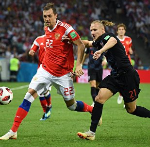 World Cup: Russia vs Croatia quarterfinals match