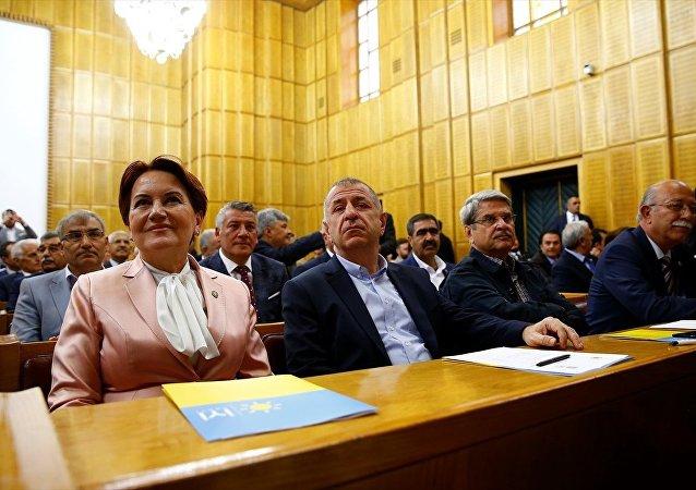 İYİ Parti Genel Başkanı Meral Akşener, partisinin TBMM'de düzenlenen grup toplantısına katıldı.