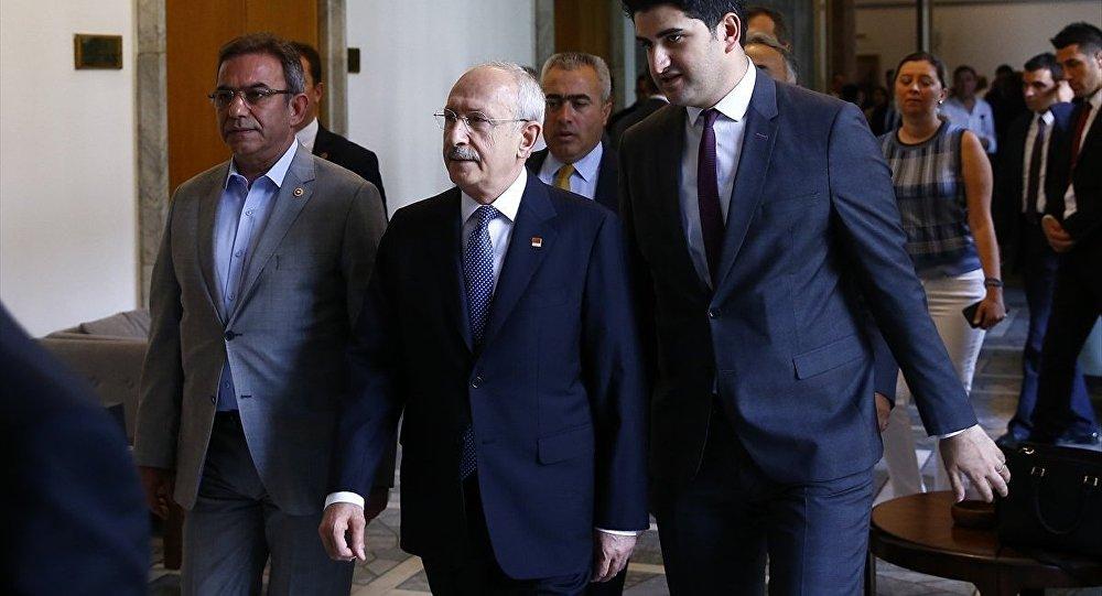Kemal Kılıçdaroğlu, Onursal Adıgüzel