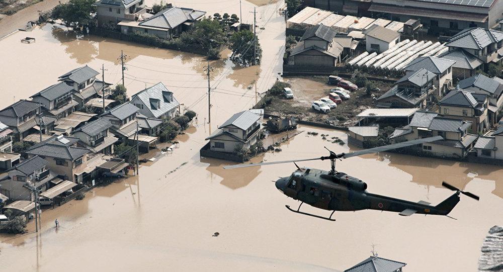 Japonya'da sel: Ölü sayısı 100'e çıktı