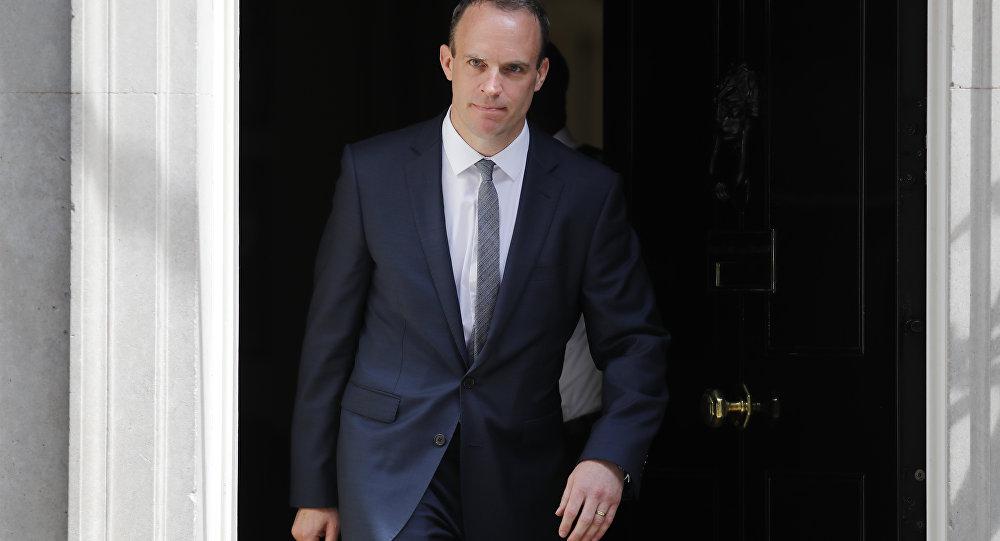 İngiltere'nin yeni Brexit Bakanı Dominic Raab