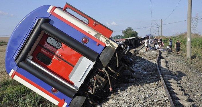 Tekirdağ, tren kazası