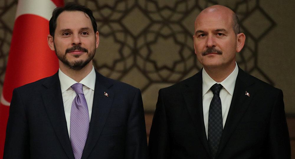Berat Albayrak - Süleyman Soylu