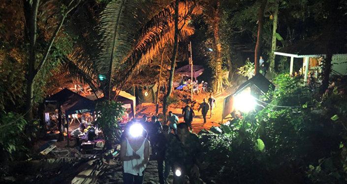 Tayland'da 12 çocuğun mahsur kaldığı mağara