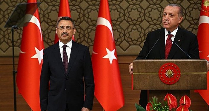 Fuat Oktay - Recep Tayyip Erdoğan