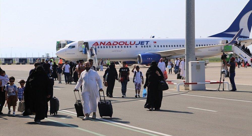 Ordu Arap turistler