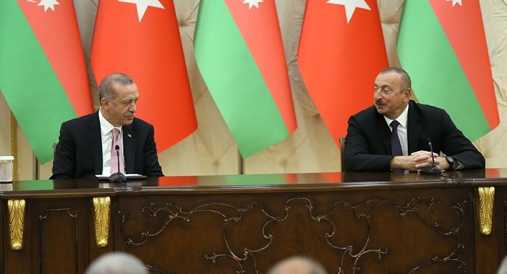 Azerbaycan Cumhurbaşkanı İlham Aliyev- Cumhurbaşkanı Recep Tayyip Erdoğan